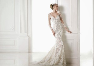2015 lace mermaid wedding dress Pronovias CAPRICORNIO_A