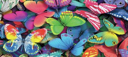 Vibracijski metuljček za prvovrstno stimulacijo