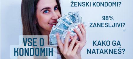 Kondomi – Najboljše kontracepcijsko sredstvo